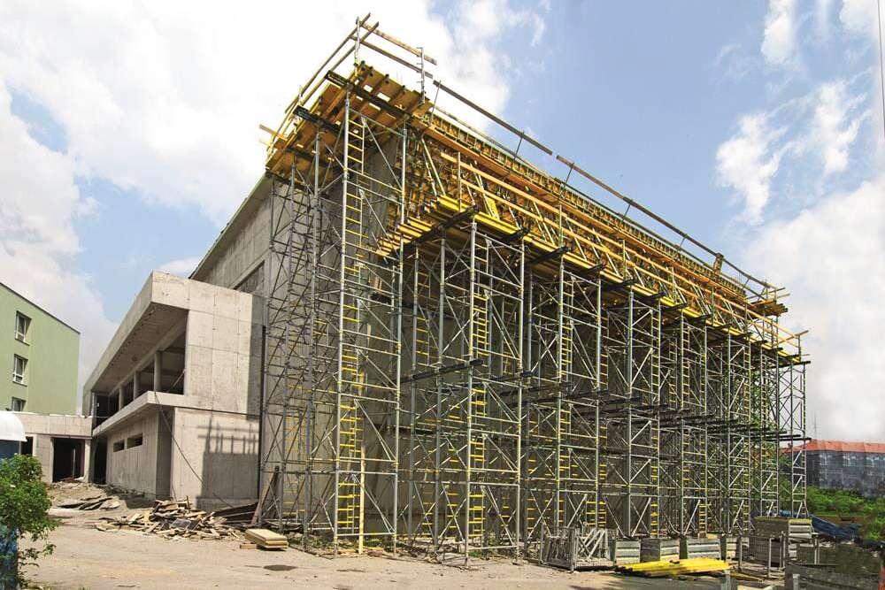 developerské a průmyslové projekty - stavební činnost